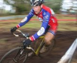 Don Myrah won the Masters A race and then finished fourth in the A race. © Cyclocross Magazine