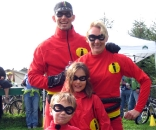 The Incredibles even made the event, perhaps to battle Barry Wicks. ? ironcladcycling.com