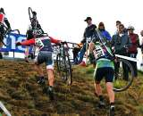 The run-up provided some classic cyclocross challenge. by Jose Sandoval