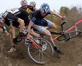The sand pile caused problems for plenty of riders.  ©Pat Malach