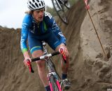 Riding over the sand pile offered a high risk/reward option.  ©Pat Malach