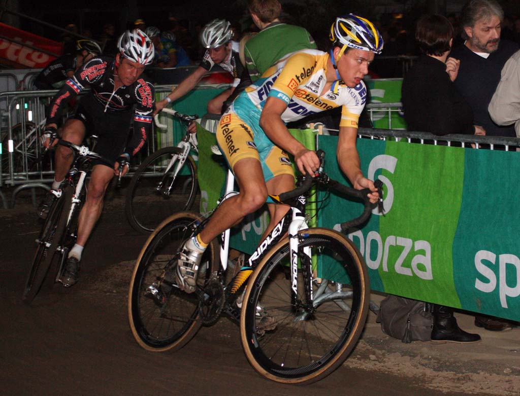 Tom Meeusen is one of the rising stars of cross. ? Bart Hazen
