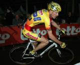 Klaas Vantornout would just miss out on the season's final podium. ? Bart Hazen