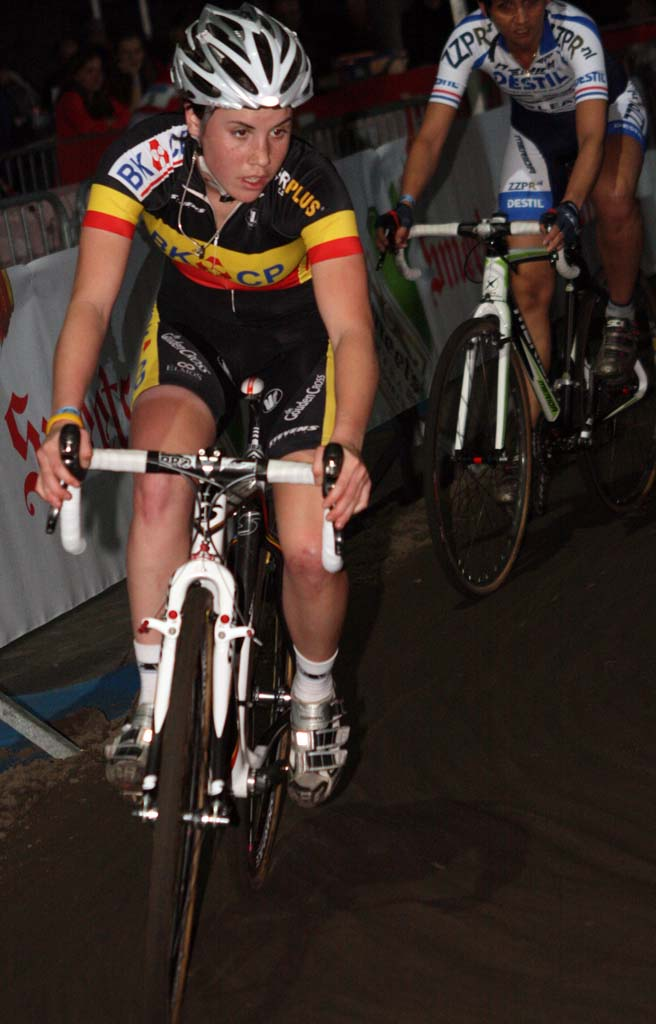 Sanne Cant gets ready for yet another turn. ? Bart Hazen