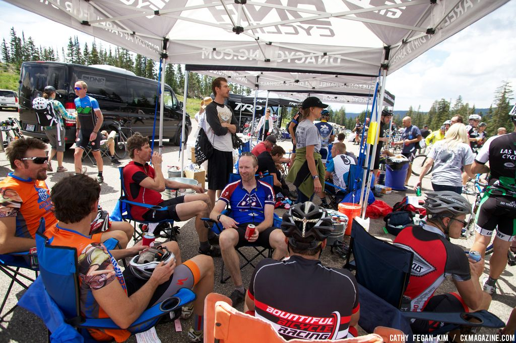 Race aftermath at Crusher in the Tushar. © Cathy Fegan Kim
