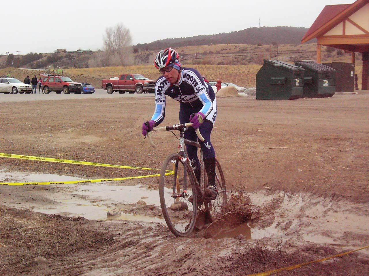 Obligatory mud puddle to splash through ? Ryan Hamilton