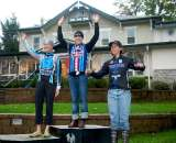 Compton, Butler, Winfield make up the women's podium. ? Mitch Clinton