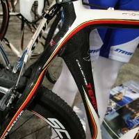 Stevems Carbon Team bike ridden by Neils Albert