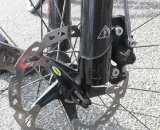 Cannard uses a rigid 29er fork on his Ibis Tranny. © Cyclocross Magazine