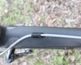 No cable inside - hydraulic brake housing. © Cyclocross Magazine