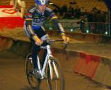 Erwin Vervecken riding with the kids race.  ? Jonas Bruffaerts