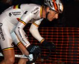 Geert Wellens, in his Belgian champ stripes for Elite without contract © Bart Hazen