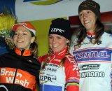 Elite women's podium © Bart Hazen