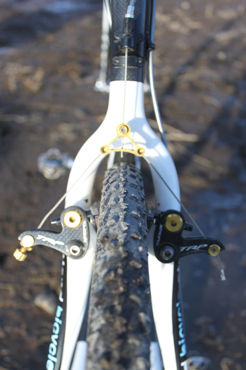 Molly Cameron used a Dugast Rhino in the back. ? Cyclocross Magazine