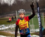 Annika Langvard taking first place at the Danish National Championships. © www.richardskovby.com