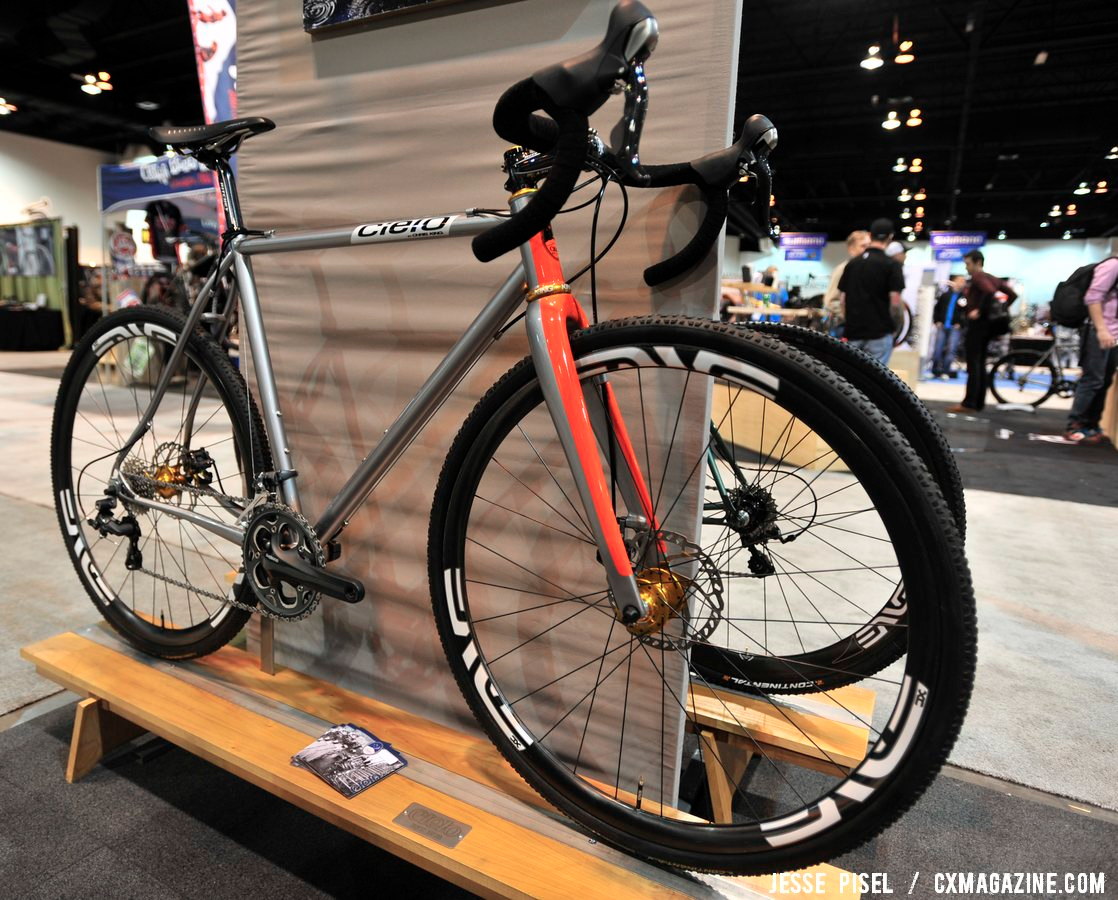 Cielo, with (as one would assume) Chris King components. NAHBS 2013 © Jesse Pisel