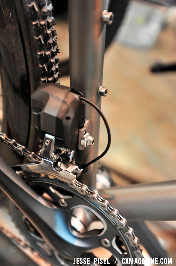 Ultegra for clean lines on the Engin. NAHBS 2013 © Jesse Pisel