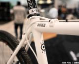 Designed for Duke, the Alchemy frame took her to a  third place spot at Nationals. NAHBS 2013 © Jesse Pisel