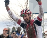 Todd Wells wins his third cyclocross national championship title. © Tim Westmore