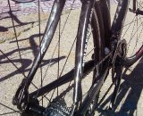 X-Bow's Shaped Stays of the Ridley X-Fire keep mud from sticking © Ryan Hamilton
