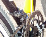 Complete bikes come with the Umlenker on the Front Derailleur, effectively turning a bottom pull derailleur into a top pull and eliminating the pulley. © Ryan Hamilton