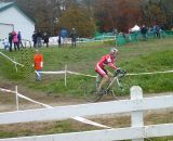 McNicholas chases. © Cyclocross Magazine