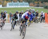 Andrea Smith (Ladies First Racing) gets the holeshot © Natalia Boltukhova   Pedal Power Photography