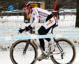 The conditions didn't deter the young racers. ? Bart Hazen