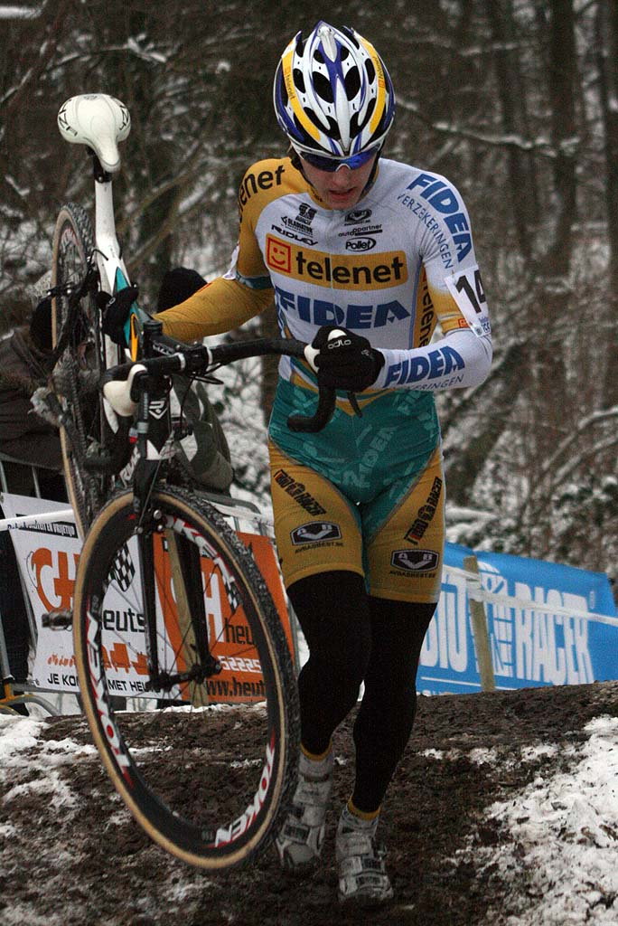 Van Kessel rode without mistake to take the title. ? Bart Hazen