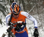 Ramon Sinkeldam fought through the conditions to finish second. ? Bart Hazen