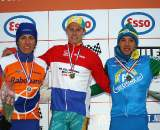 The podium at the Dutch U23 championships. ? Bart Hazen