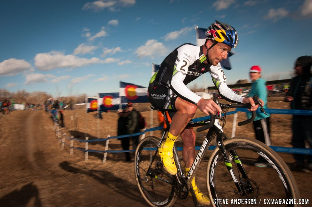 Tim Johnson at Elite Men 2014 USA Cyclocross Nationals. © Steve Anderson