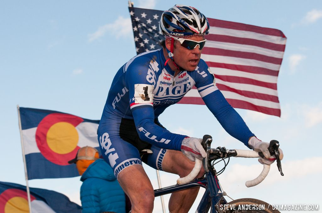 Jonathan Page at Elite Men 2014 USA Cyclocross Nationals. © Steve Anderson