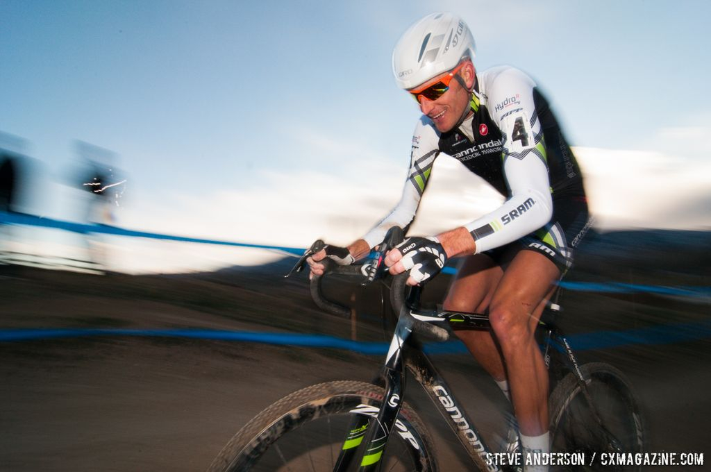 Ryan Trebon at Elite Men 2014 USA Cyclocross Nationals. © Steve Anderson