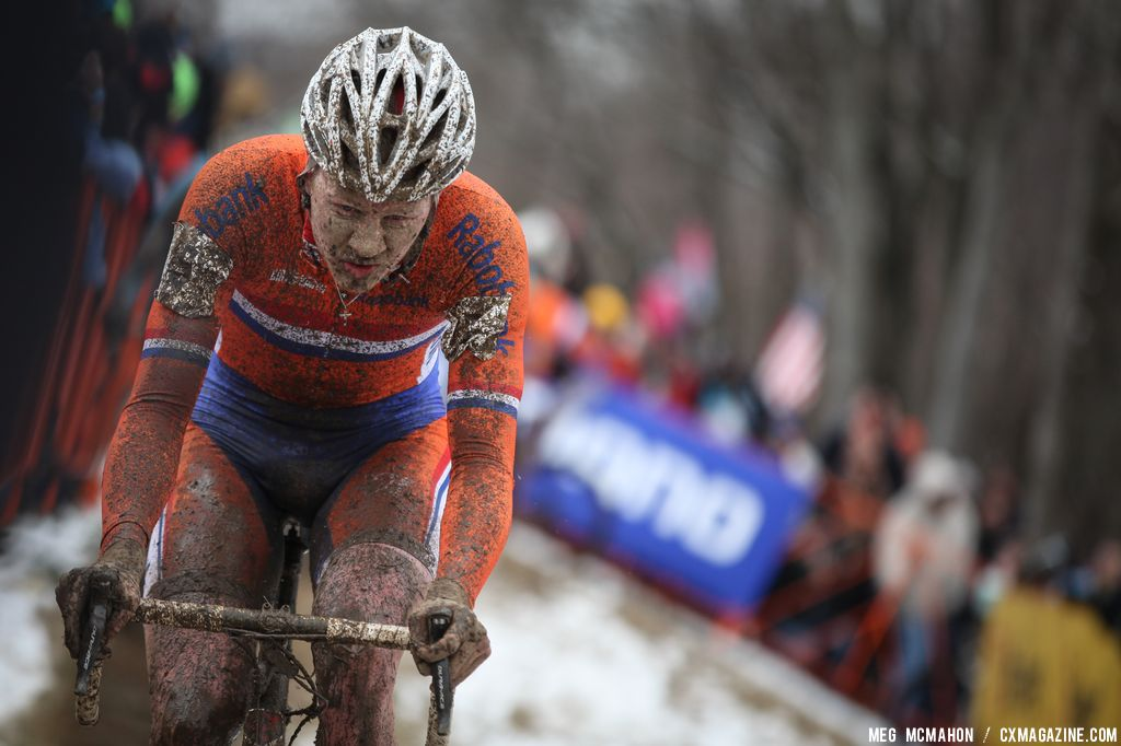 Dutch racer Eising in the Elite U23 World Championships of Cyclocross 2013 © Meg McMahon