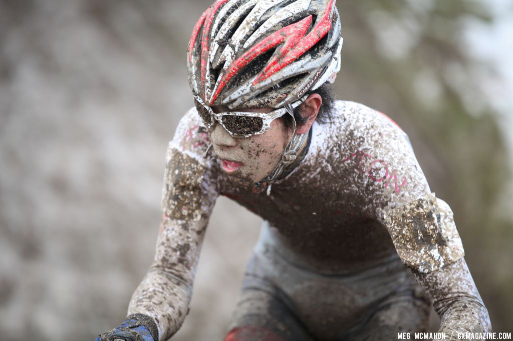 The Japanese racer in the Elite U23 World Championships of Cyclocross 2013 © Meg McMahon