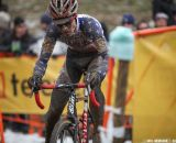 The US riders get muddy fast in the Elite U23 World Championships of Cyclocross 2013 © Meg McMahon