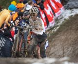 Eckmann hits the hill in the Elite U23 World Championships of Cyclocross 2013 © Meg McMahon