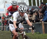 Vos leading in the whoopdees. 2009 Azencross - Loenhout GVA Trofee Series. ? Bart Hazen