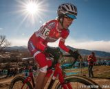 Rachel Lloyd at Elite Women 2014 USA Cyclocross Nationals. © Steve Anderson