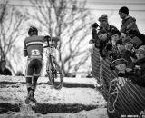 Vos hits the runup in the Elite Women World Championships of Cyclocross 2013 © Meg McMahon