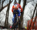 Sanne van Paassen in the Elite Women World Championships of Cyclocross 2013 © Meg McMahon