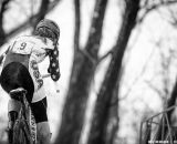 Antonneau pushes up hill in the Elite Women World Championships of Cyclocross 2013 © Meg McMahon