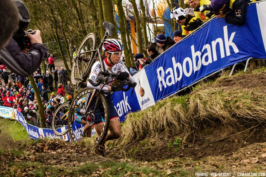 Helen Wyman at Elite Women UCI Cyclocross World Championships. © Thomas Van Bracht