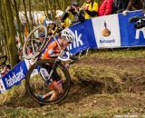 Marianne Vos at Elite Women UCI Cyclocross World Championships. © Thomas Van Bracht