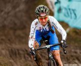 Eva Lechner at Elite Women UCI Cyclocross World Championships. © Thomas Van Bracht