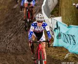 Elle Anderson at Elite Women UCI Cyclocross World Championships. © Thomas Van Bracht