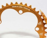 Endless Bikes chainrings and cogs are made in Asheville, North Carolina. © Cyclocross Magazine