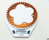 The Odd 1 chainring weighs in at just 67 grams. © Cyclocross Magazine