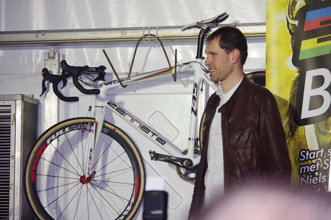 Vervecken has hung up the bike for the final time. ? Jonas Bruffaerts